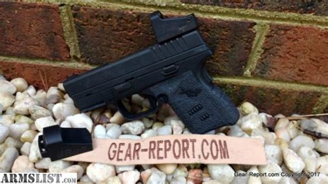 armslist  sale springfield armory xds    micro red dot mount