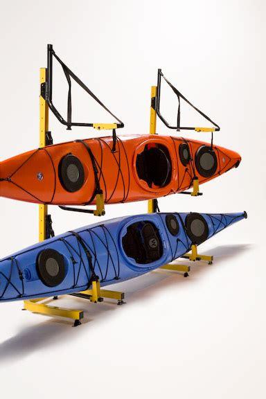 3 boat free standing kayak storage racks kayak care