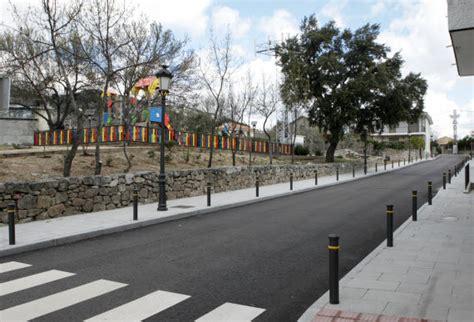 imagenes calles urbanas reformas urbanas en valdemaqueda y hoyo de manzanares