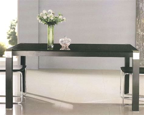 black glass top dining table black glass top dining table ol dt02