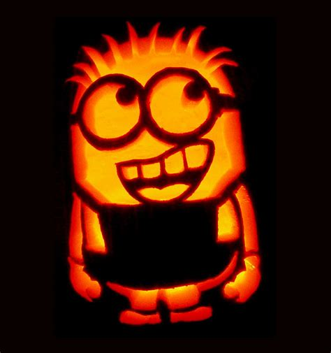 minion pumpkin template www imgkid com the image kid