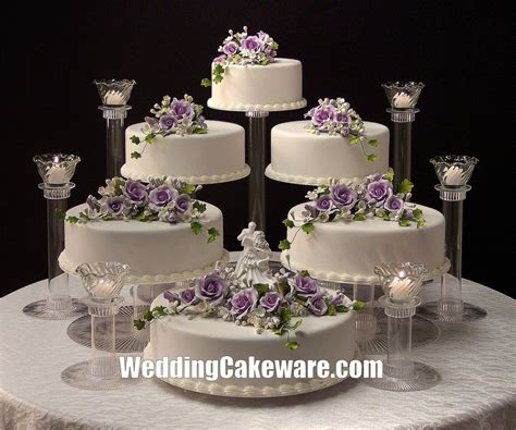 Wedding Cakes Stands by 6 Tier Cascading Wedding Cake Stand Stands 6 Tier Candle