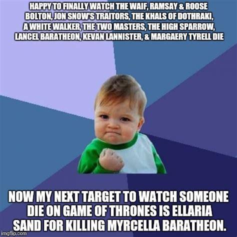 Ramsay Bolton Meme - success kid meme imgflip