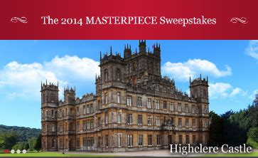 Masterpiece Sweepstakes - the 2014 masterpiece sweepstakes win a trip to great britain