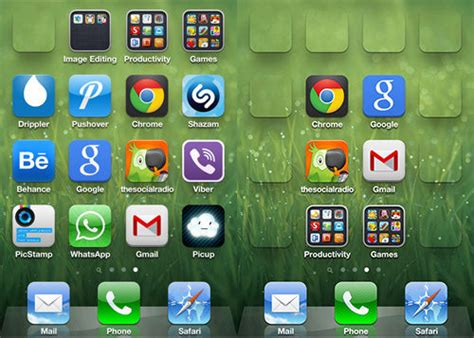 home screen icon design organize your ios homescreen with iempty camouflaged icons