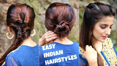 everyday indian hairstyles for medium hair 3 anarkali hairstyles for medium long hair easy everyday