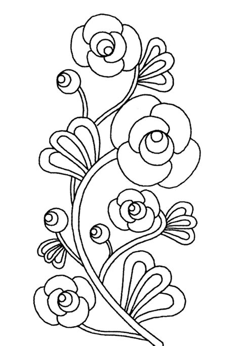 imagenes e flores para colorear imagenes y fotos dibujos de flores para colorear parte 2