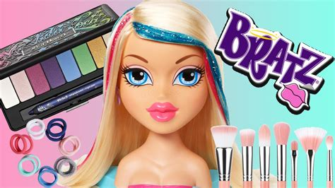 Makeup Kit Makeover bratz makeover with new makeup and new hair do new look