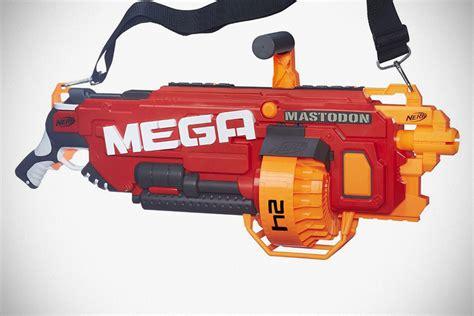 nerf car shooter meet mastodon the biggest foam dart shooting nerf blaster