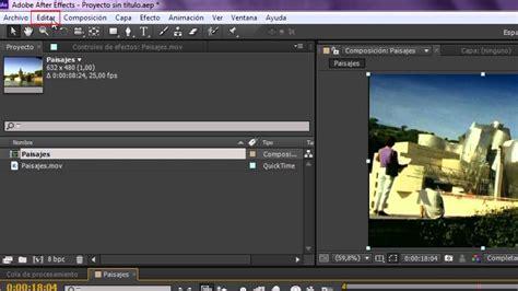 cortar un video c 243 mo cortar un v 237 deo en adobe after effects youtube