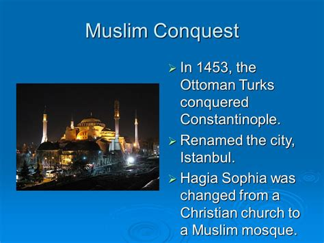 in 1453 the ottomans conquered which important christian city in 1453 the ottomans conquered which important christian