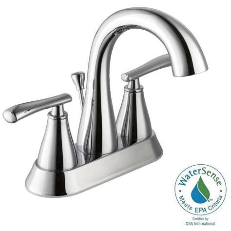 schon centerset 2 handle high arc bathroom faucet chrome
