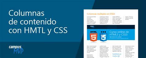 cabecera html5 un vistazo a las columnas responsive en html5 y css3