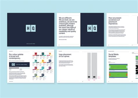 Design Manual Vorlagen Hq One Darnley Road Branding Digital