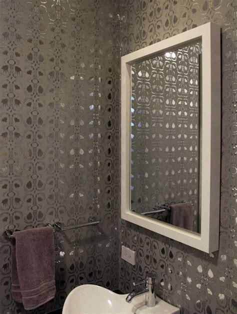 contemporary bathroom wallpaper bathroom wallpaper contemporary bathroom design ideas 2017