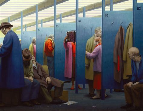 the waiting room influence george tooker