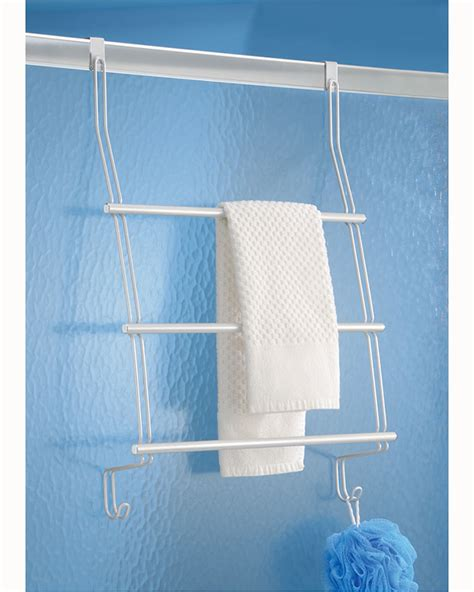 shower door towel rack