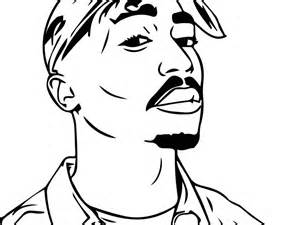 rapper coloring sheet coloring pages