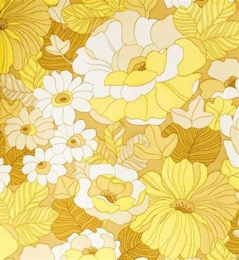 print pattern vintage wallpaper 24 best images about floral print yellow on pinterest