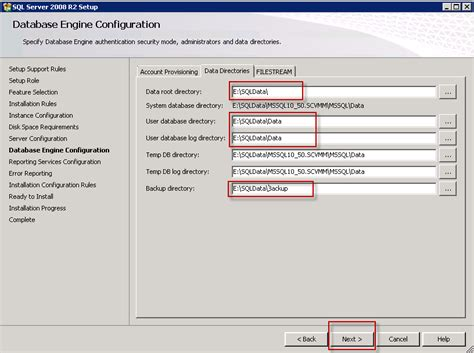 configure xp root directory how to install sql 2008 r2 on windows server 2008 r2 sp1