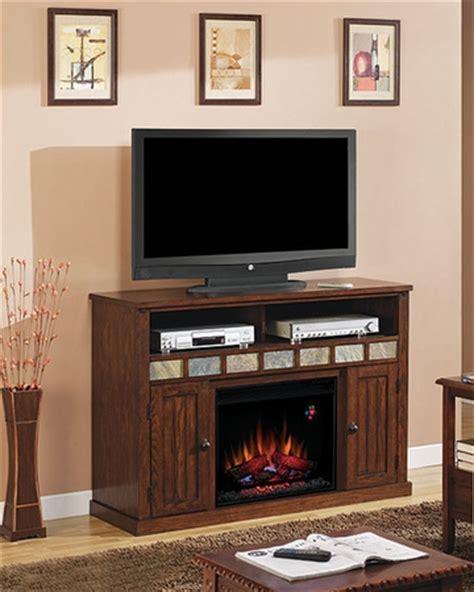 fireplace tv console classic 52 quot fireplace tv console sedona ts 23mm0925