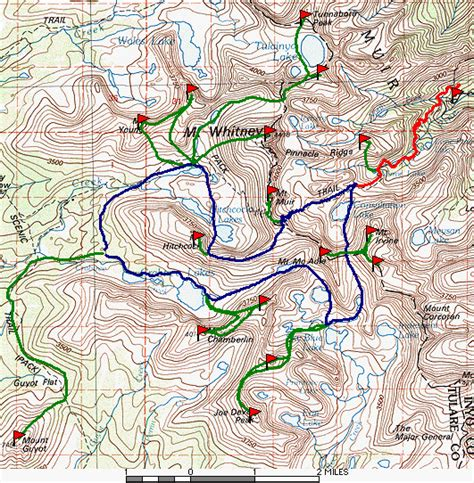 Duke Newcomb And The 16 Peaks Climber Org Trip Report