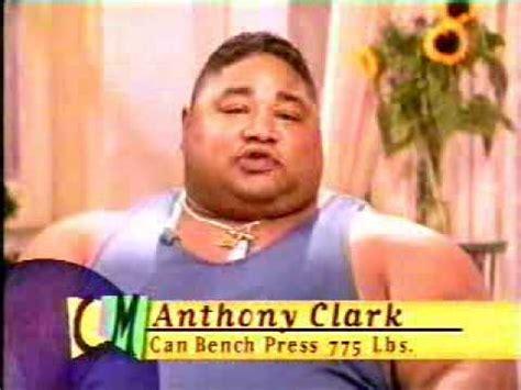 anthony clark bench anthony clark tribute part 1 youtube