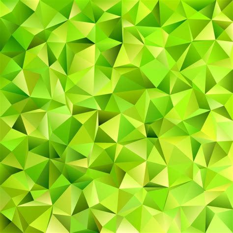 vector pattern background green geometrical abstract irregular triangle tile pattern