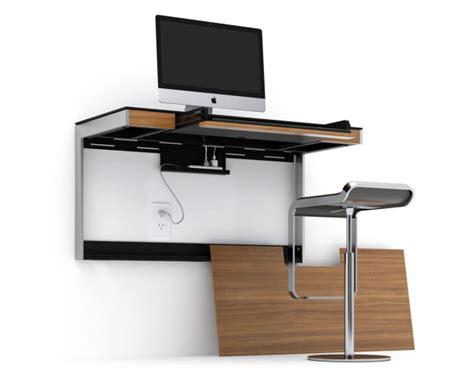 design milk desk a wall mounted desk for smaller spaces design milk