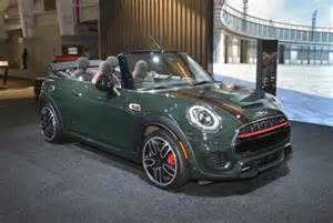2016 mini cooper works convertible debuts in new york