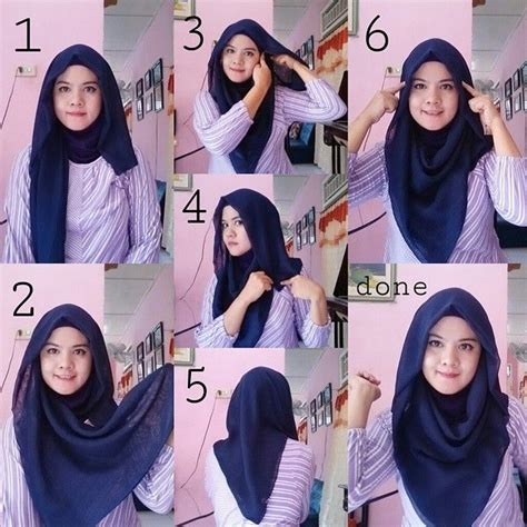 video tutorial hijab simple casual 25 kreasi tutorial hijab segi empat simple terbaru 2018