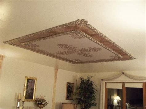cast plaster and plaster stencils create a magnificent