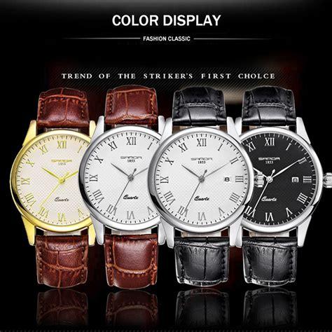 sanda jam tangan analog wanita sd 189 black black