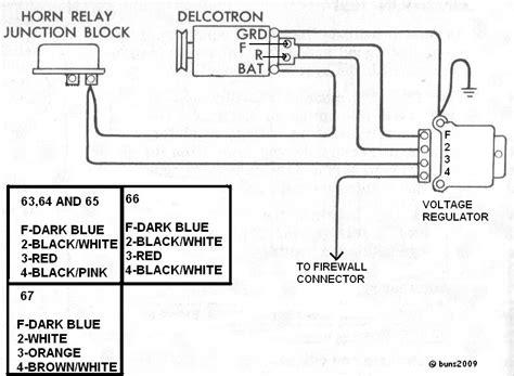 chevrolet voltage regulator wiring diagram wiring