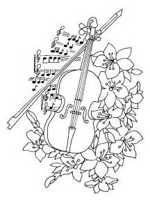 instrument coloring pages 7 musical instruments coloring pages
