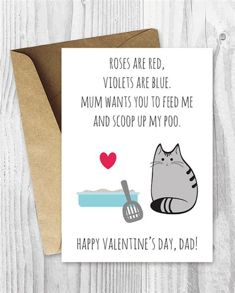 diy valentines cards for him diy for him valentines card printable for uk cat