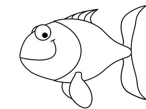pattern drawing fish simple fish outline clip art clipart panda free