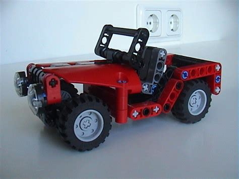 lego mini jeep lego moc 0243 mini jeep technic 2012 rebrickable