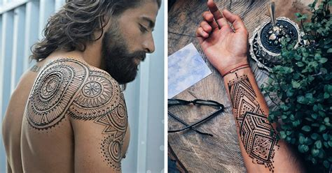henna tattoo ideas for guys menna trend sees wearing intricate henna tattoos