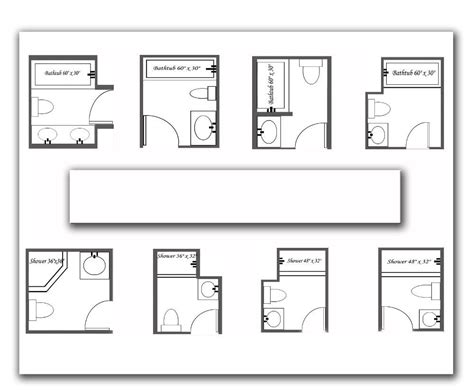 small bathroom floorplans 7 beautiful bathroom layouts and designs size bathroom