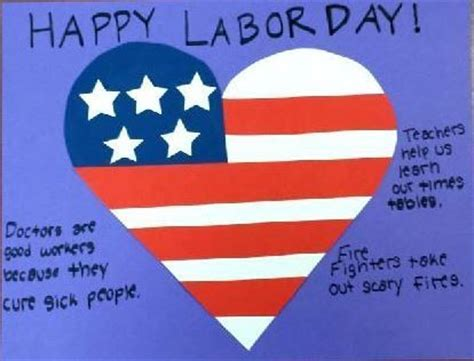 labor day craft i american workers labor crafts