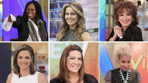 vire cast season 19 of the view kicks with new cast favorite abc13