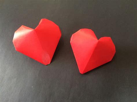 3d Hearts Origami - 折り紙 ハート 立体 3d balloon origami