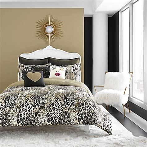 gold twin comforter buy betsey johnson 174 wild thing reversible twin comforter