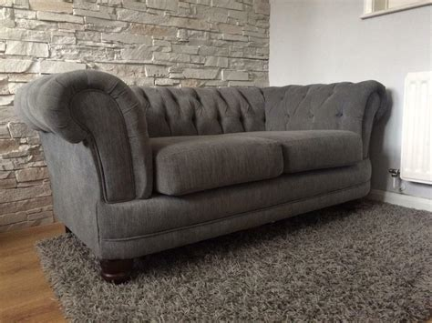 Gray Chesterfield Sofa by 2 Seater Chesterfield Sofa Luxury Grey In Basford