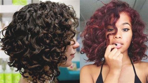 corte pelo rizado mujer corte de pelo rizado mujer corte de cabello 2018 para cara