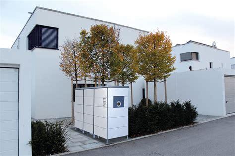garten q trash garten q trash m 252 lltonnenhaus mit briefkasten modern