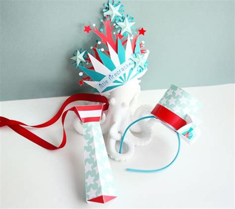 4th Of July Paper Crafts - july 4th crafts for printable paper crafts cricut