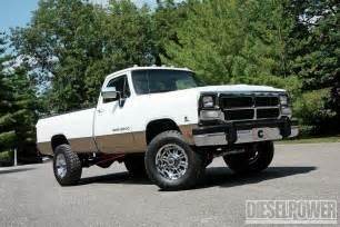 1991 Dodge Diesel 1991 Dodge Ram 2500 W250 Diesel Power Magazine