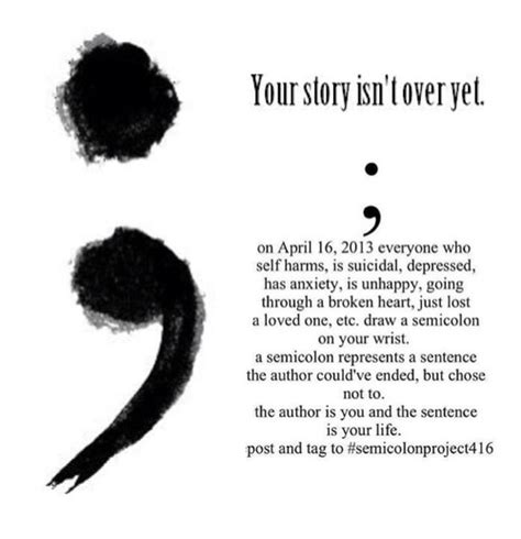 semicolon while living a true story books the semi colon project mistreatment of the self